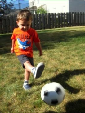 Soccer - kicking