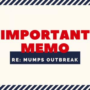 Mumps memo