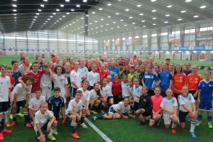 Allstate High Performance Soccer Clinic - take 2