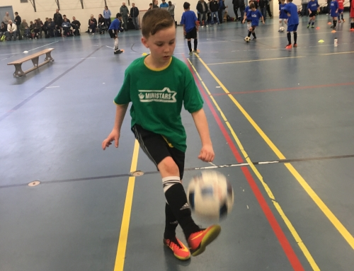 Young players enjoyed opportunity to demonstrate skills at Mini Stars Showcase