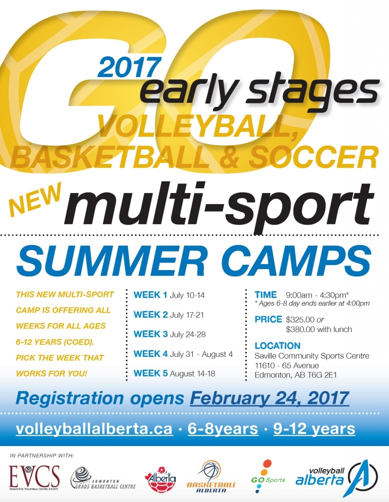 Multi Sport Summer Camps For Ab Youngsters Alberta Soccer