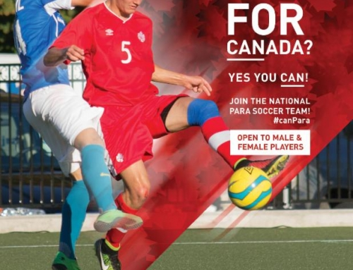 National Para Soccer Team recruitment clinics running on May 13-14