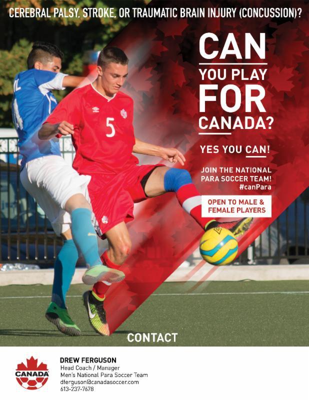 Canada Soccer - Para Soccer