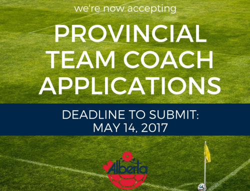 Alberta Soccer now accepting applications for Provincial Team coaches