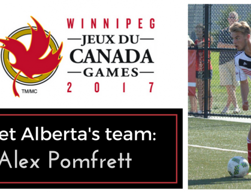 Meet the Canada Summer Games team: Alex Pomfrett