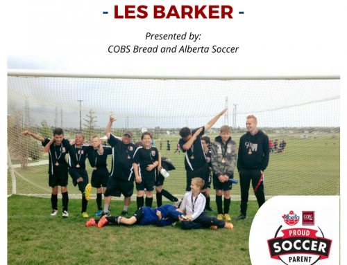 Soccer Parent of the Month by COBS Bread