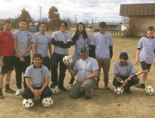 District Outreach Spotlight: Alberta Soccer Grassroots helps to build soccer program in Dene Tha' First Nation