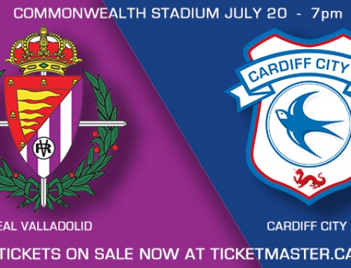 Real Valladolid v Cardiff City FC at Commonwealth Stadium